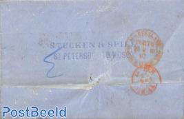 Letter from St. Petersburg to Arnhem (NL)