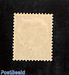 10 cent on 20c overprint, strongly moved