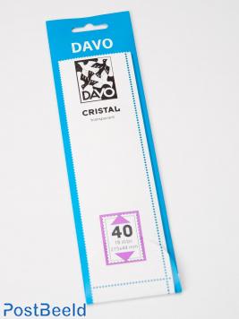 Cristal protector mounts C40 (215 x 44) 18 pcs