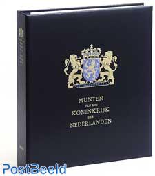 Luxe currency binder Kon.Willem I + II