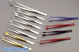 Tweezers model curved shovel (type 54) (2), each piece