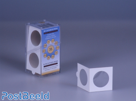 50 Coinholders Self-Adhesive 35mm