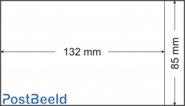 500 bustine glassine 85x132mm