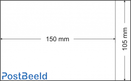 500 glassine bags 105x150mm