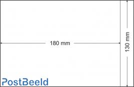 500 glassine bags 130x180mm