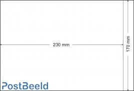 500 bustine glassine 170x230mm