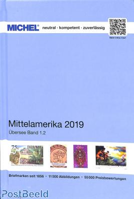 Michel catalogue Central America 2019 edition