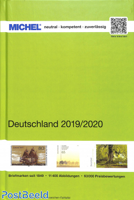 Michel Catalogue Germany, 2019/2020 edition