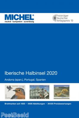 Michel catalogue E4, Spain, Portugal, Sp. Andorra, 2020 edition