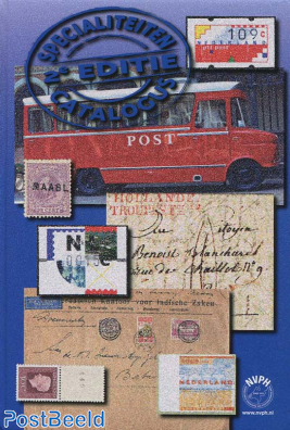 NVPH Speciality Catalogue for Postmarks/Cancellations 2014 2nd edition