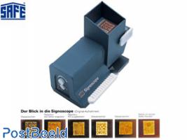 Safe Signoscope T1 (watermark finder) with Adapter (european plug)