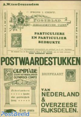 Particuliere en Particulier bedrukte Postwaardestukken, A.W. ten Geuzendam