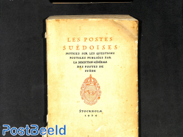 Les Postes Suédoises, 1924, softcover slightly damages