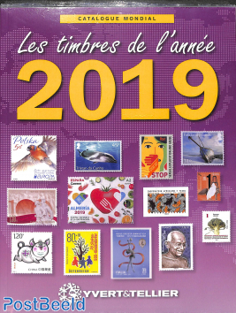 Yvert, Stamps of the year 2019