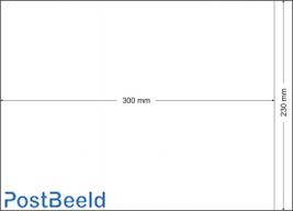500 glassine bags 230x300mm