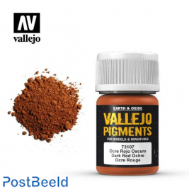 Vallejo Pigment Dark Red Ochre