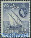 35c, Violetblue, Stamp out of set