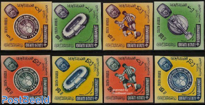Worldcup football 8v imperforated