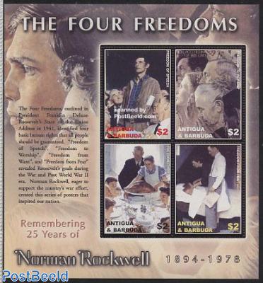 Norman Rockwell 4v m/s, Freedom of speech
