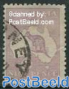 9p, Type II, Stamp out of set