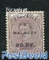 Eupen 7 Malmedy, 20pf, Stamp out of set