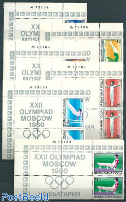 Olympic games 2x6v+tabs