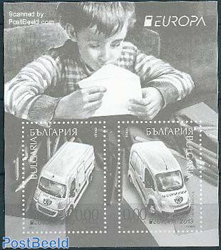 Europa, postal transport blackprint
