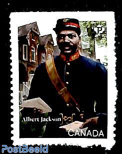 Black history, Albert Jackson 1v s-a
