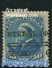 50c Blue, Stamp out of set