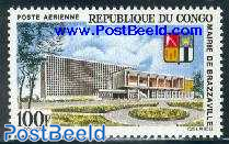 Brazzaville city hall 1v