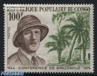Brazzaville conference, Charles de Gaulle 1v