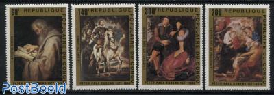 P.P. Rubens, paintings 4v