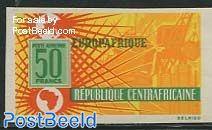 Europafrique 1v imperforated