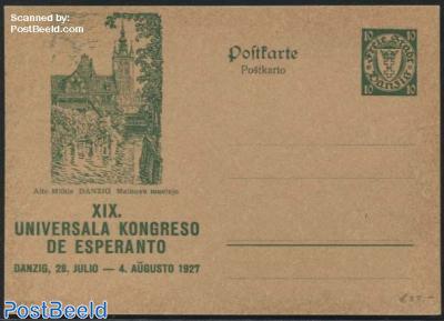 Illustrated Postcard, Esperanto congress, 10pf, Alte Muehle