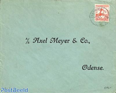 Letter from BRAMMINGE to Oddense