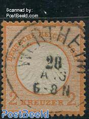 2Kr, Orange, used