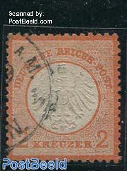 2Kr, Redorange, used