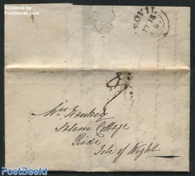 Letter sent to the Isle of Wight