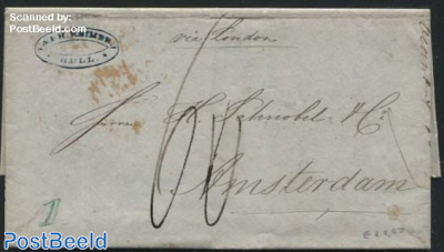 Letter from Hull to Amsterdam