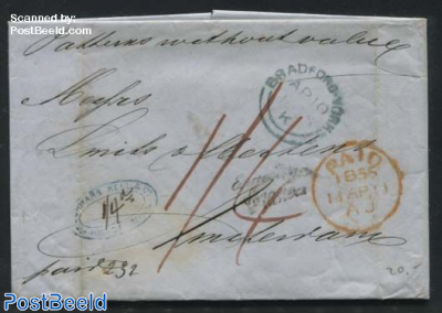 Letter from Bradford to amsterdam