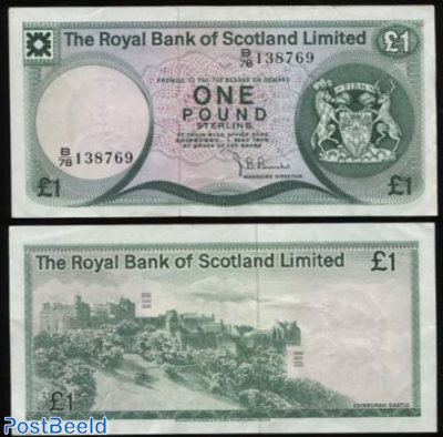 The Royal Bank of Scotland, 1 Pound
