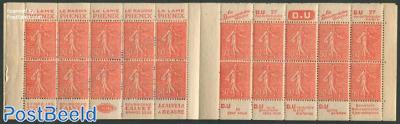 20x50c booklet (Phenix-Du-Calvet-Du)