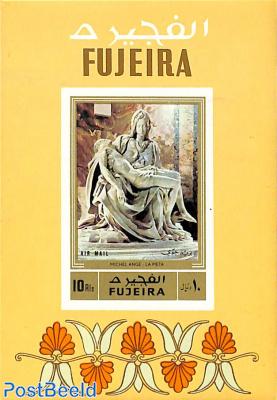 Sculptures, Michelangelo s/s, imperforated
