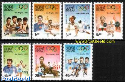 Olympic games of 1932 7v