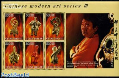 Chinese modern art 6v m/s