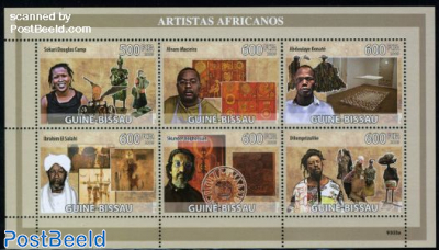 African artists 6v m/s