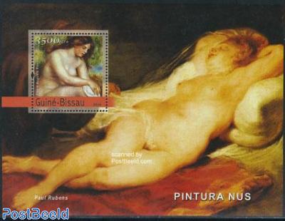 Nude painting (renoir) s/s