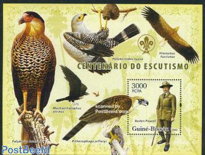 Scouting, birds of prey s/s