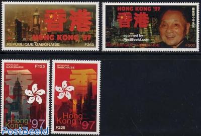 Hong Kong to China 4v