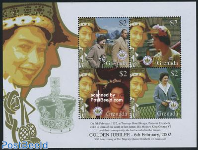 Elizabeth golden coronation 4v m/s